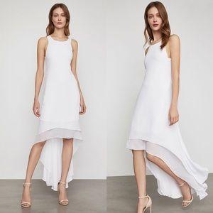 BCBG High-Low Cutout Dress